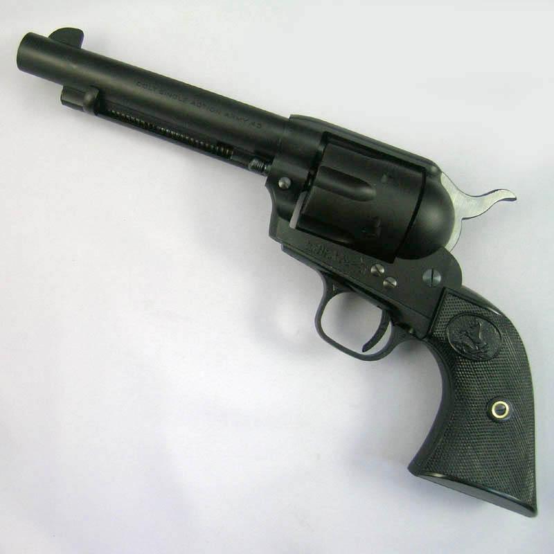 画像1: コルトSAA 2nd スタンダード [アーティラリー]5-1/2インチ  HW・発火式モデルガン(CAW)