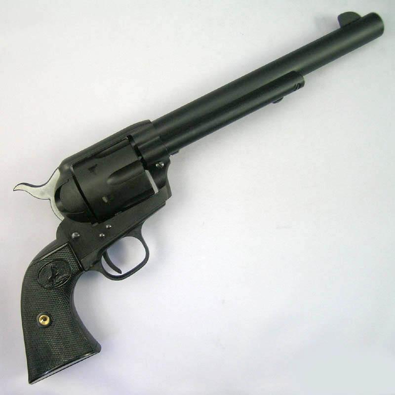 画像2: コルトSAA 2nd スタンダード [キャバルリー]7-1/2インチ  HW・発火式モデルガン(CAW)