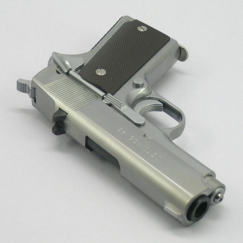 画像3: デトニクス・ステンレスシルバー・モデル ABS・BLKモデルガン(CAW)
