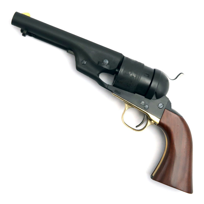 画像1: コルトM1860アーミー・5.5インチ・コンバージョン・モデル  HW・発火式モデルガン(HWS)