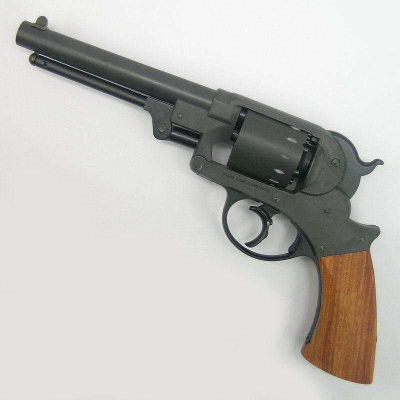 画像1: 【再販/予約商品】スタール・アーミー・リボルバー  HW・発火式モデルガン(HWS)