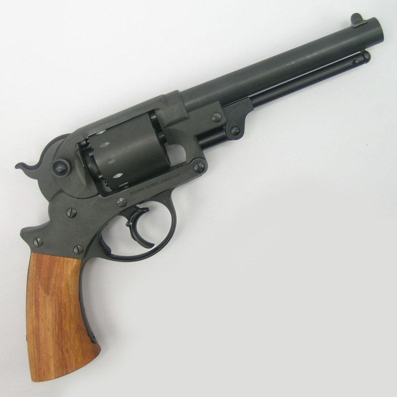 画像2: 【再販/予約商品】スタール・アーミー・リボルバー  HW・発火式モデルガン(HWS)