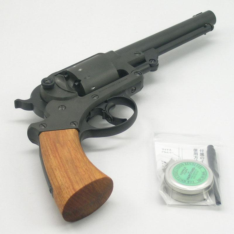画像4: 【再販/予約商品】スタール・アーミー・リボルバー  HW・発火式モデルガン(HWS)