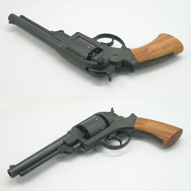 画像5: 【再販/予約商品】スタール・アーミー・リボルバー  HW・発火式モデルガン(HWS)