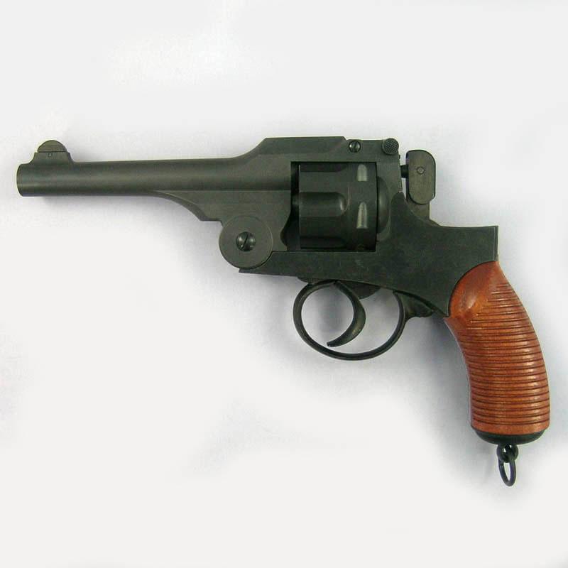 画像1: 【予約商品】二十六年式拳銃[ノーマルモデル/木製グリップ付] HW・発火式モデルガン(HWS)
