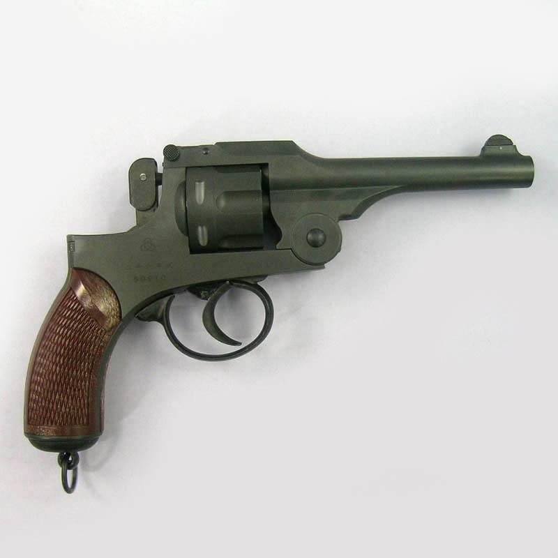 画像2: 二十六年式拳銃[ノーマルモデル/樹脂グリップ付] HW・発火式モデルガン(HWS)