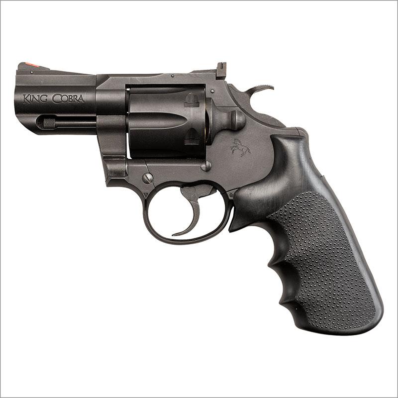 画像1: コルト・キングコブラ・2.5インチ[ブラック] HW・発火式モデルガン(KSC)