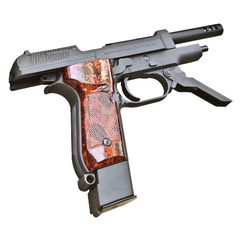 画像4: M93R 1stモデル HW・BLKモデルガン(KSC)