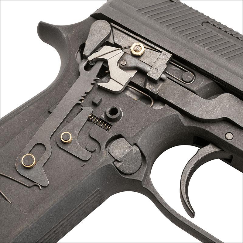 画像5: M93R 1stモデル HW・BLKモデルガン(KSC)