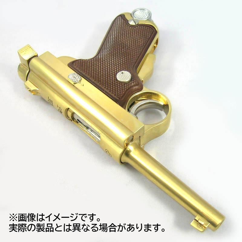 画像4: 【予約商品】南部式小型拳銃[御賜刻印/ダミーカートモデル] 桐箱入り 金属・ダミーカート式モデルガン(マルシン)