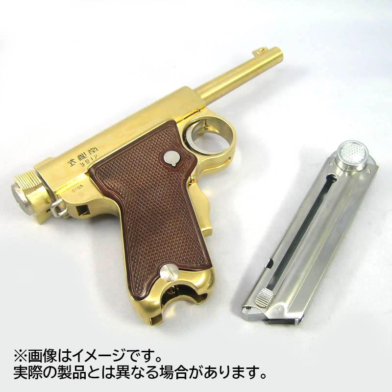 画像5: 【予約商品】南部式小型拳銃[御賜刻印/ダミーカートモデル] 桐箱入り 金属・ダミーカート式モデルガン(マルシン)
