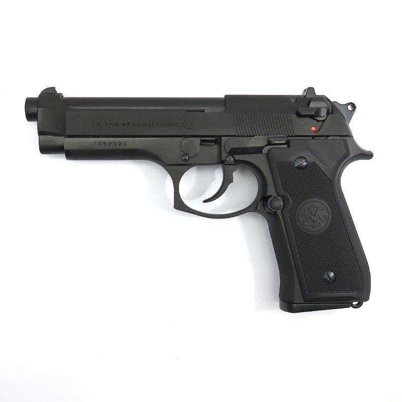 画像1: M9 ブラックHW・BLKモデルガン(マルシン)