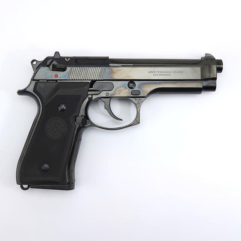 画像2: U.S. 9mm M9[ダブルディープブラック] ABS・BLKモデルガン(マルシン)