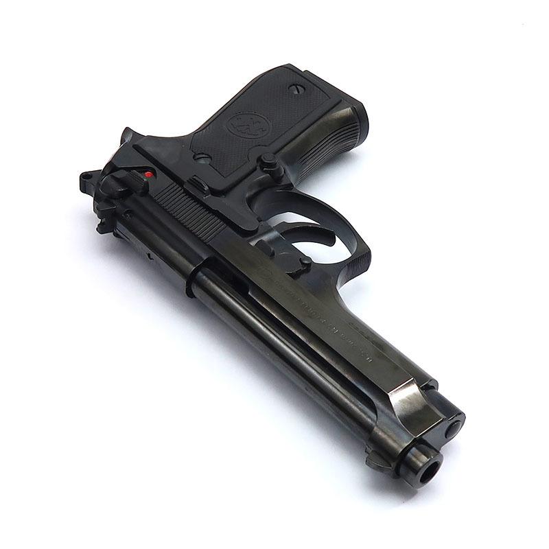 画像3: U.S. 9mm M9[ダブルディープブラック] ABS・BLKモデルガン(マルシン)
