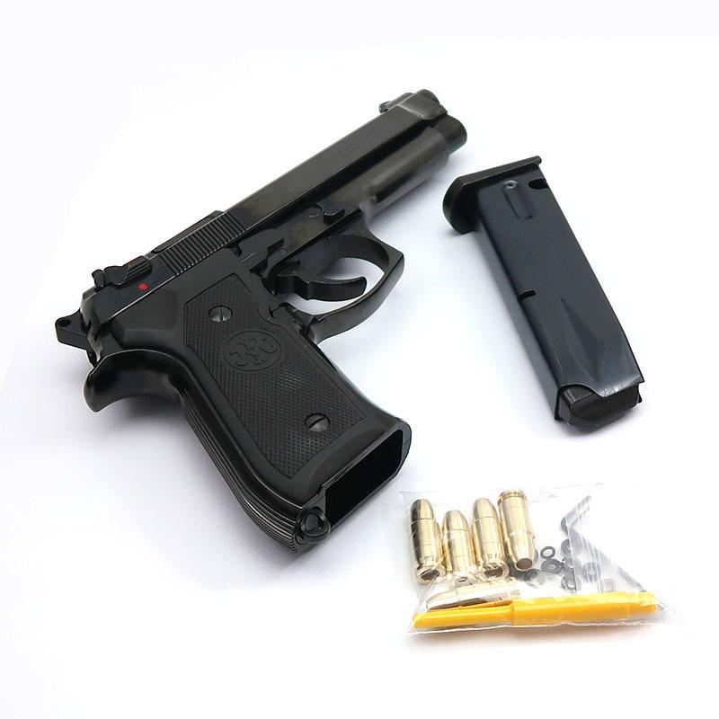 画像4: U.S. 9mm M9[ダブルディープブラック] ABS・BLKモデルガン(マルシン)