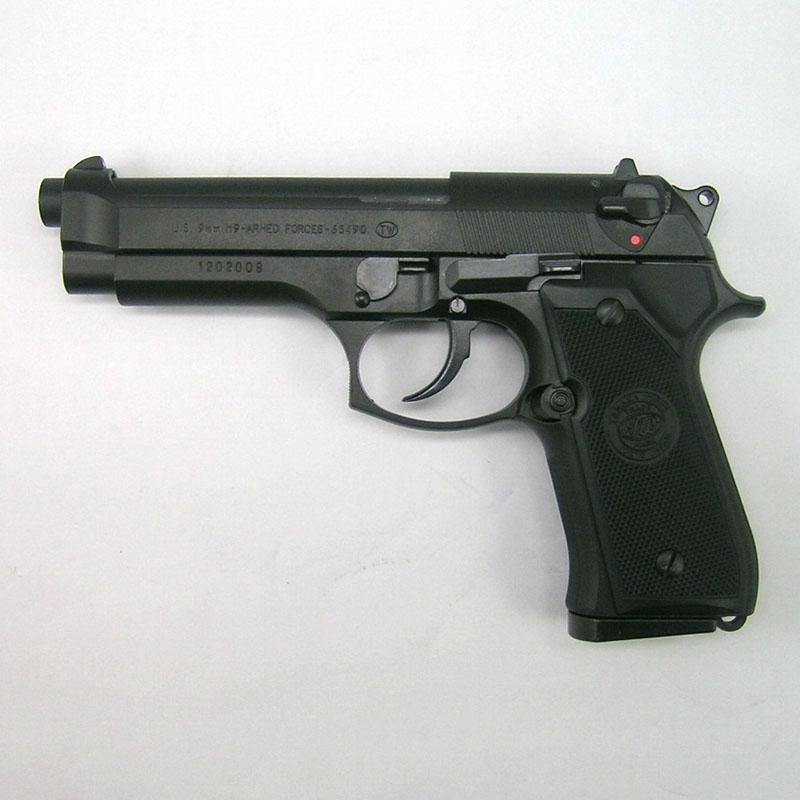 画像1: U.S. M9アームドフォース・エボリューションHP HW/BLKモデルガン(タナカ)