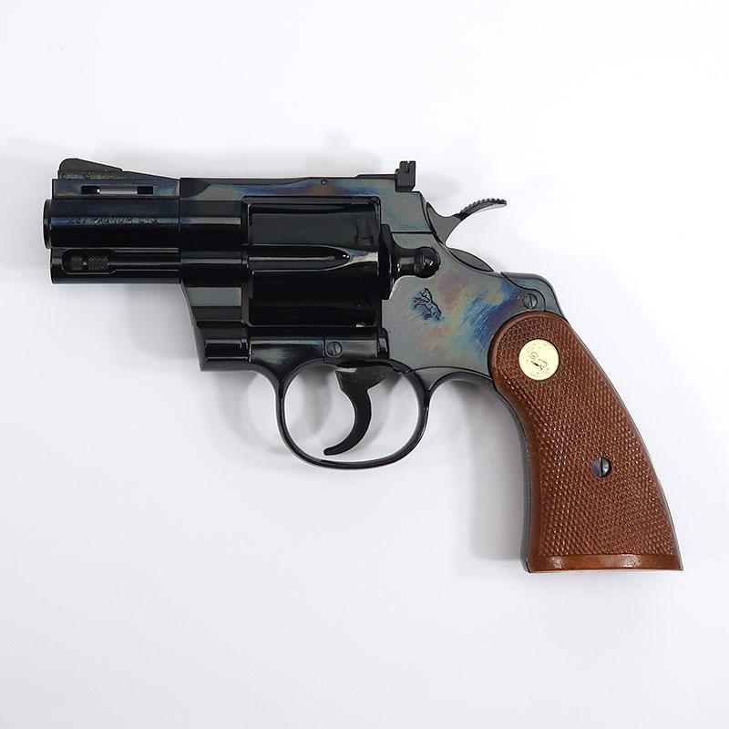 画像1: コルト・パイソン.357マグナム・2.5インチ・Rモデル [スチールフィニッシュ] ABS/発火式モデルガン(タナカ)