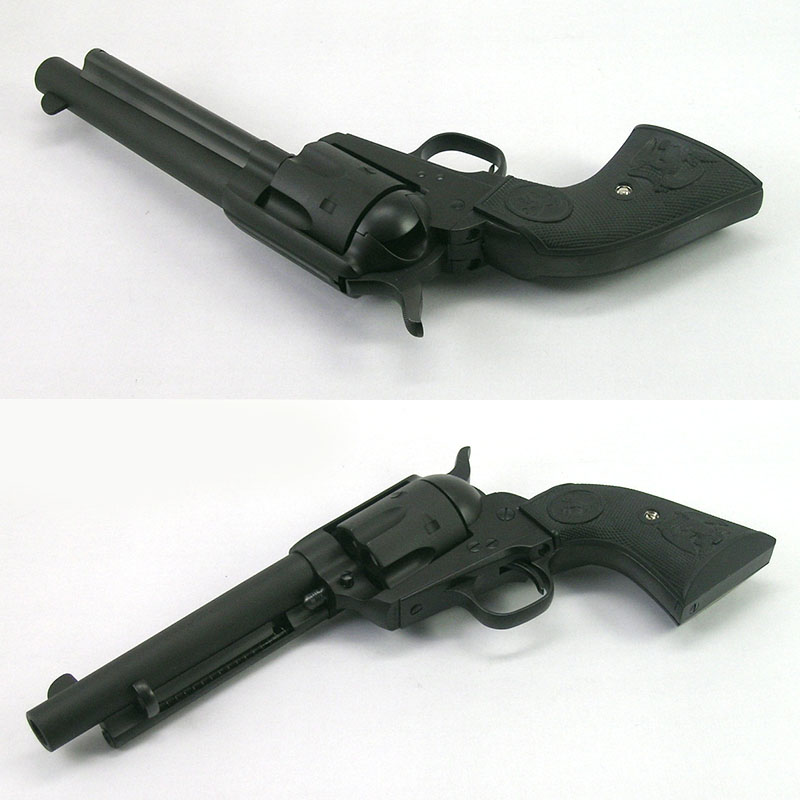 画像5: コルトS.A.A.45 2nd GEN. 5-1/2インチ HW/発火式モデルガン(タナカ)