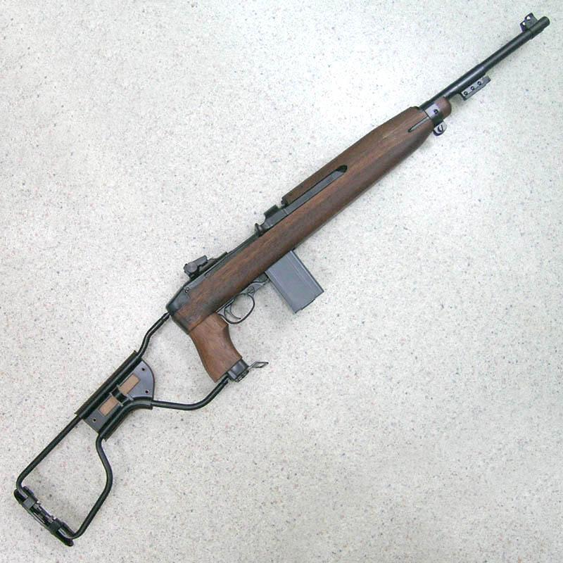 画像1: U.S. M1A1カービン・パラトルーパー Ver.2 金属・BLKモデルガン(タナカ)