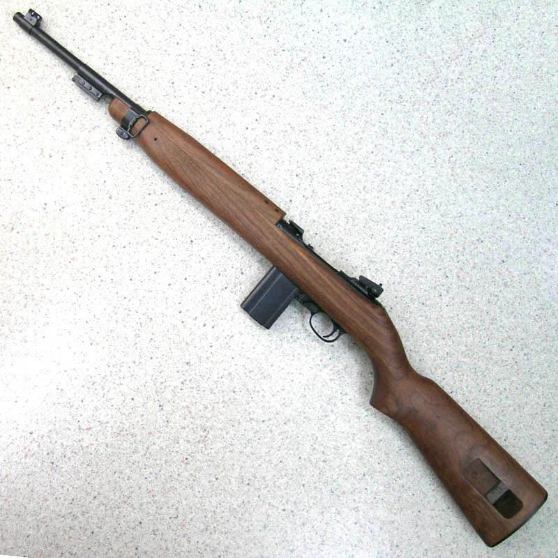 画像2: U.S. M1カービン Ver.2 金属・BLKモデルガン(タナカ)