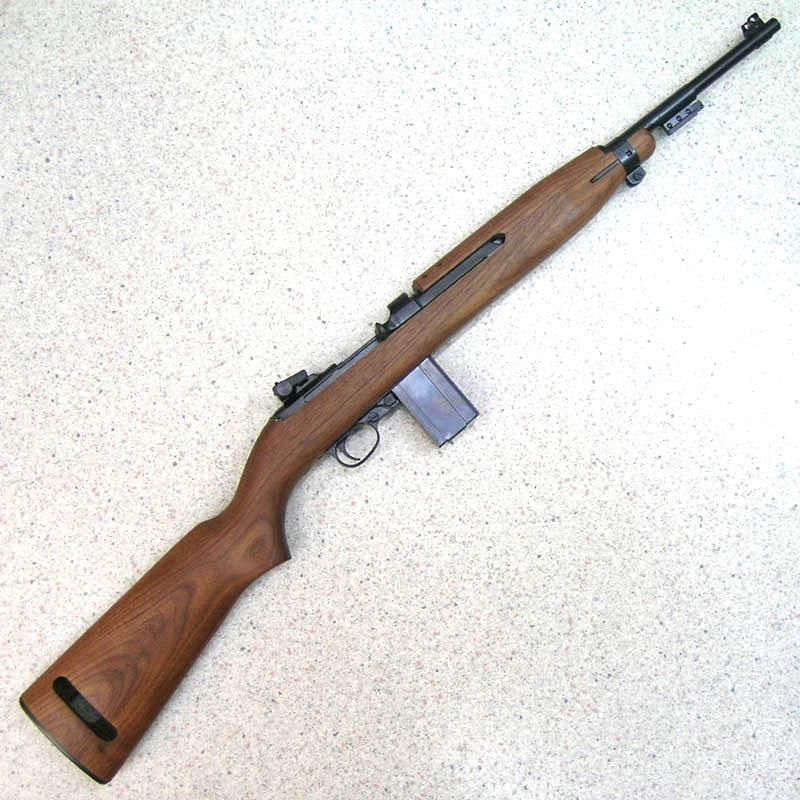 画像1: U.S. M1カービン Ver.2 金属・BLKモデルガン(タナカ)