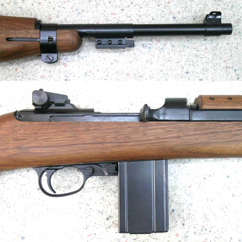 画像3: U.S. M1カービン Ver.2 金属・BLKモデルガン(タナカ)