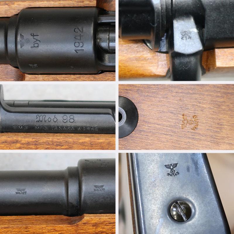 画像5: モーゼルKar98k 金属製/発火式モデルガン(タナカ)