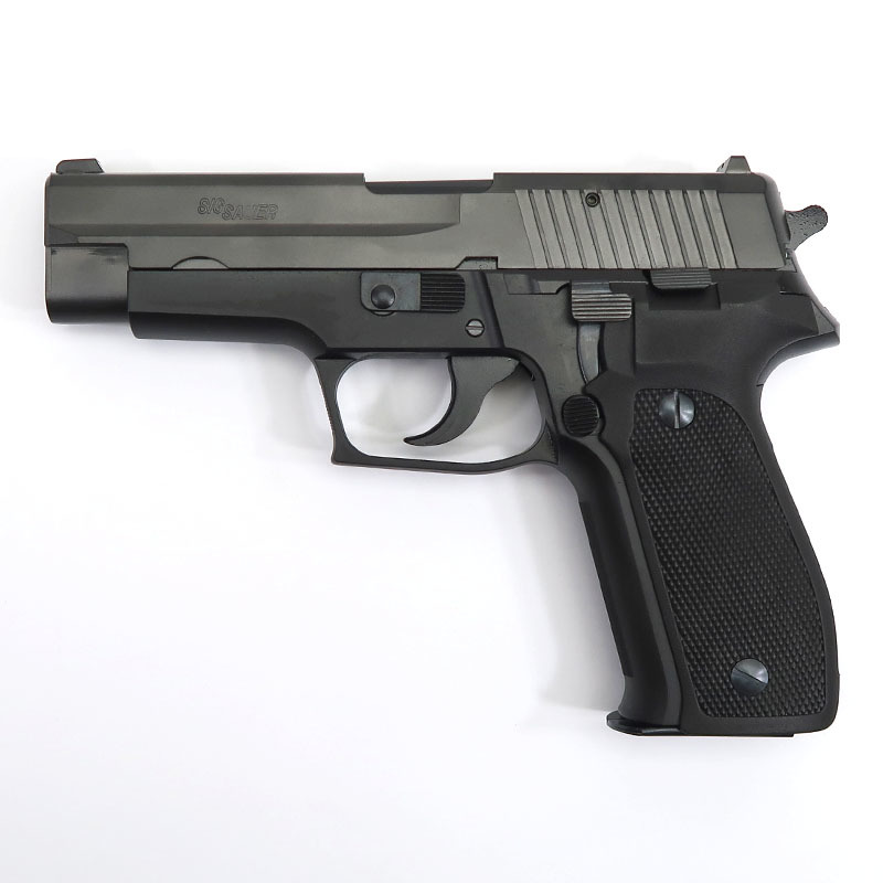 画像1: SIG P226 アーリータイプ・エボ2・フレームHW ABS・HW/BLKモデルガン(タナカ)