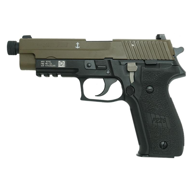 画像1: SIG P226 Mk25-TBツートーン・EVO2・フレームHW [セラコート塗装] ABS・HW/BLKモデルガン(タナカ)