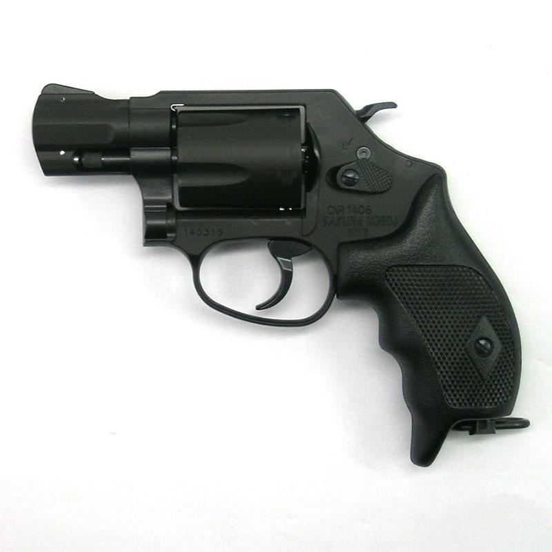 画像1: S&W M360J[日本警察仕様]サクラ  HW/発火式モデルガン(タナカ)