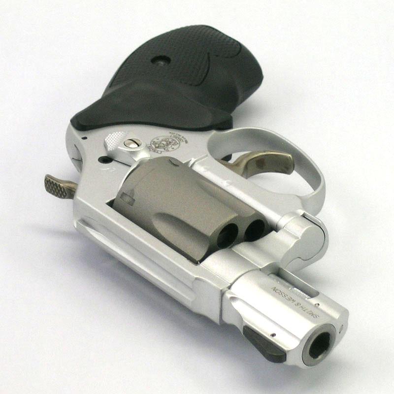 画像3: S&W M360SC[スカンジウム]セラコート  ABS/発火式モデルガン(タナカ)