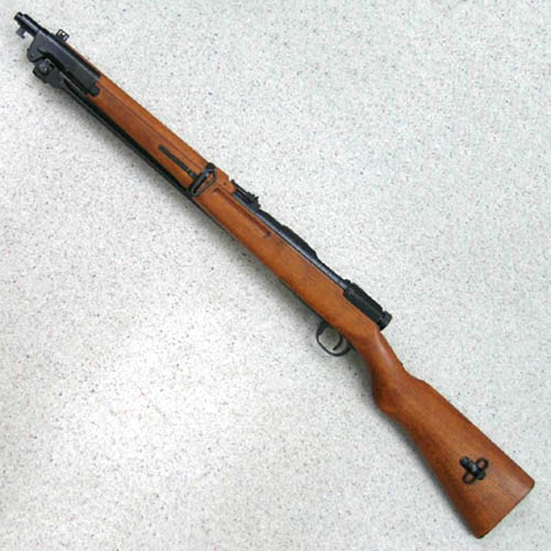 画像2: 四四式騎兵銃 金属/発火式モデルガン(タナカ)