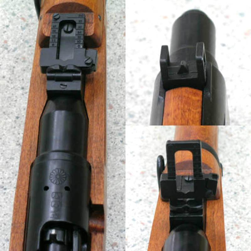画像4: 四四式騎兵銃 金属/発火式モデルガン(タナカ)