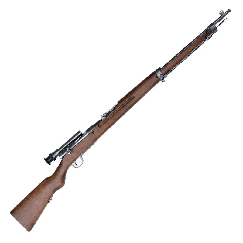 画像1: 【送料別途お見積り】九七式狙撃銃 [グレイスチールフィニッシュ] 金属/発火式モデルガン(タナカ)