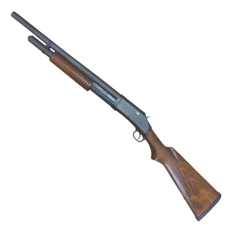 画像2: M1897ライオットガン・20インチ・バージョン2 ABS/発火式モデルガン(タナカ)