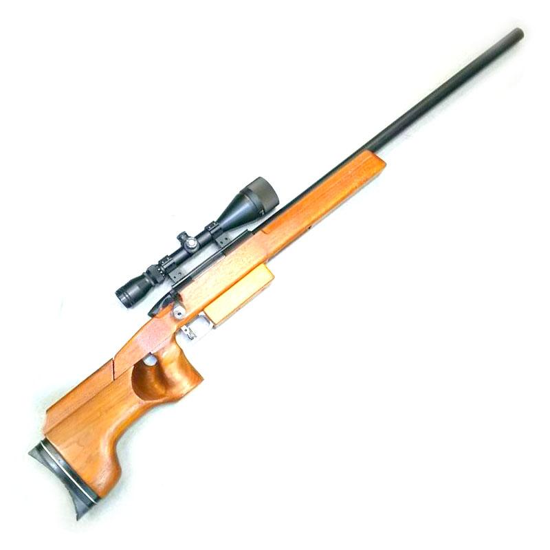画像1: 【中古/エアーガン】APS-2 M99ライフル(ライフルスコープ付き) アルミ/木製(マルゼン)