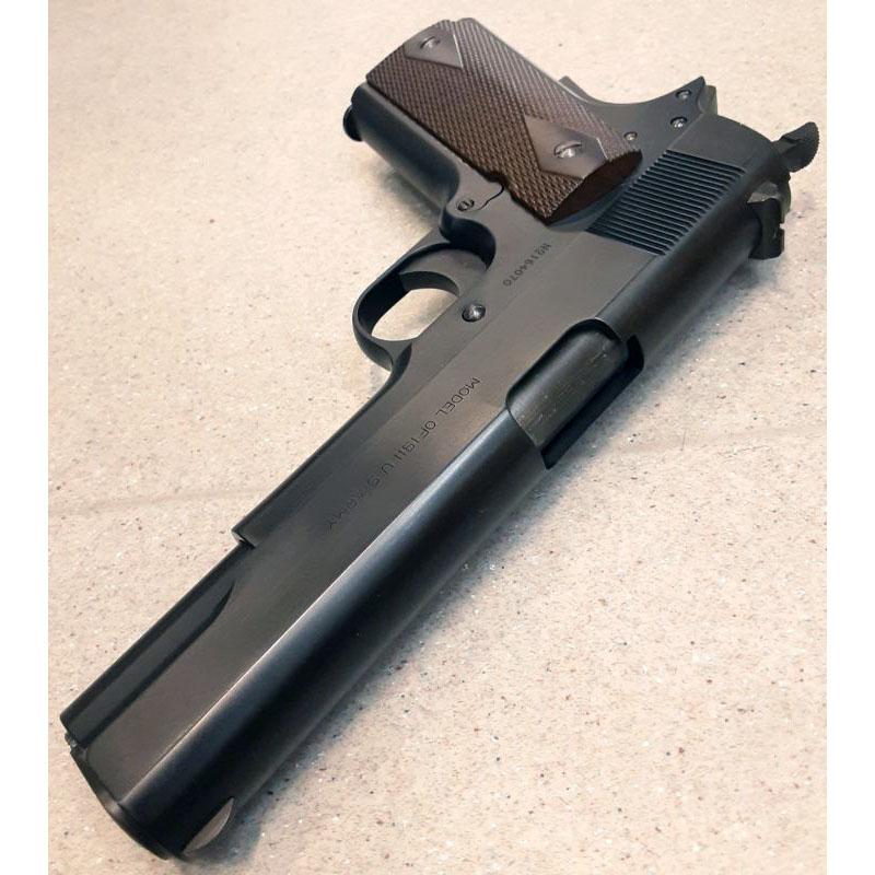画像4: 【中古/BLKガスガン】コルト M1911『ボニー&クライド』【ビンテージエディション】(SCW Ver.3) HW製(ウェスタンアームズ)