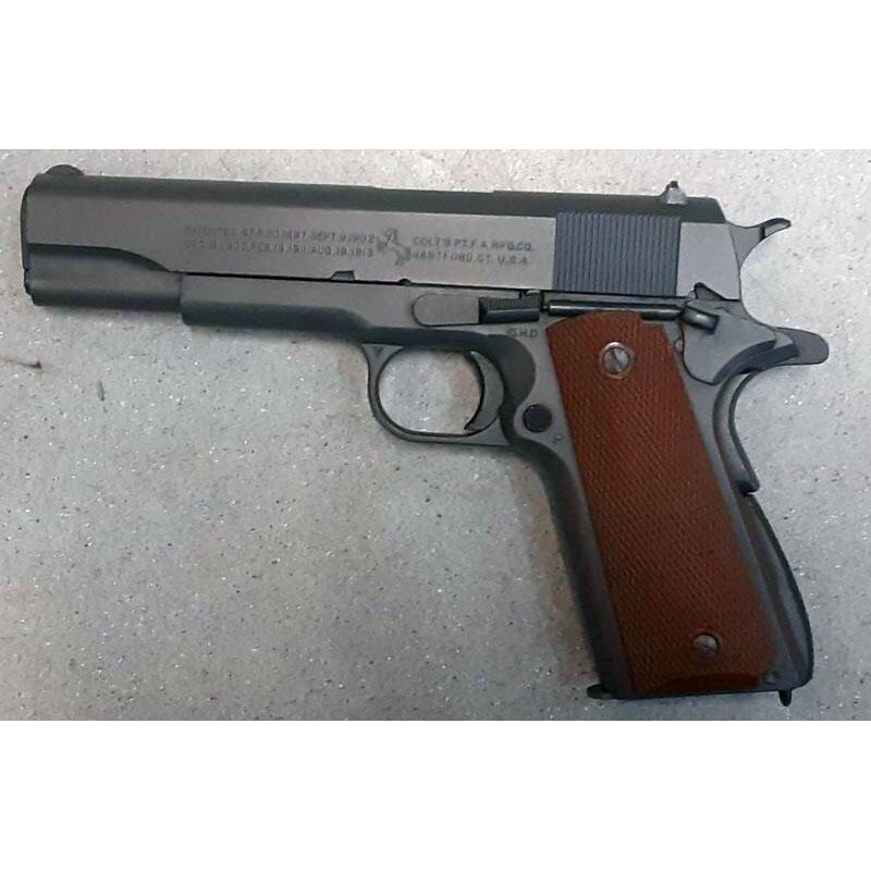 画像1: 【中古/BLKガスガン】コルト M1911A1 (SCW Ver.1) HW製(ウェスタンアームズ)