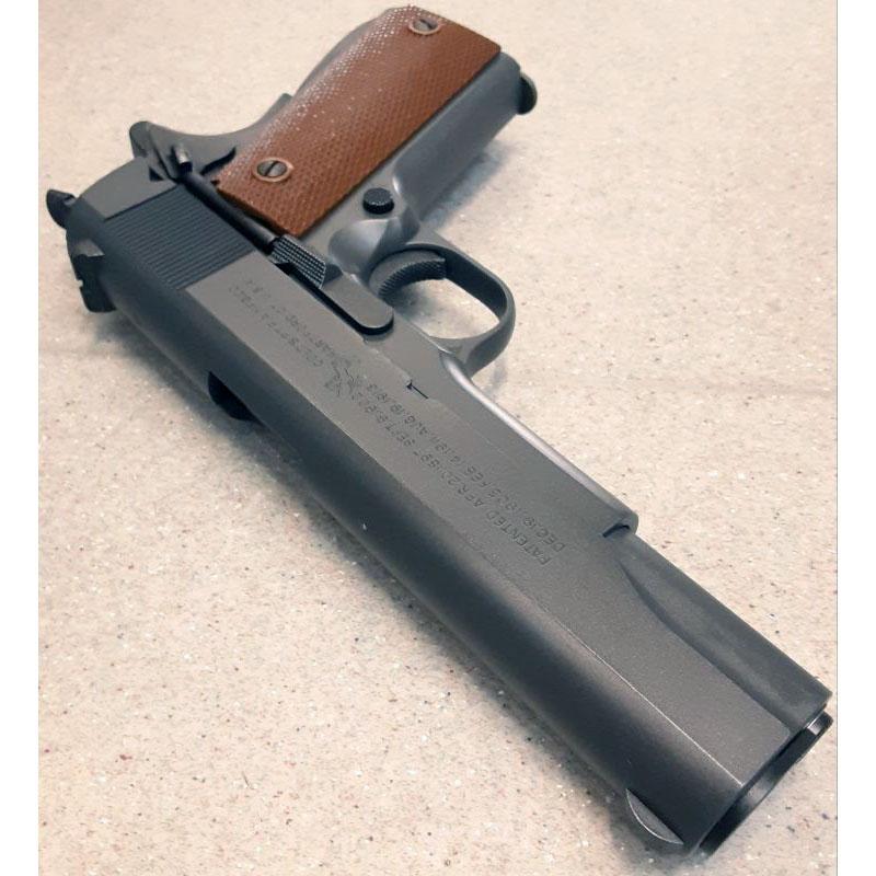 画像3: 【中古/BLKガスガン】コルト M1911A1 (SCW Ver.1) HW製(ウェスタンアームズ)