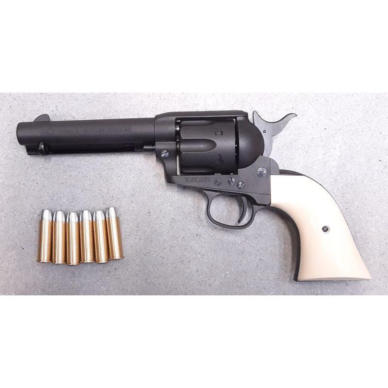 画像1: 【中古/ガスガン】コルトSAA.45ピースメーカー (HWブラック)6mmBB弾Xカートリッジ仕様 HW製(マルシン)