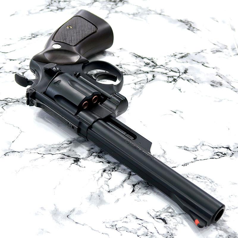 画像3: 【中古/ガスガン】S&W M29 6.5インチ [6mmBB/Xカートリッジ] マットブラック/プラグリップ付 ABS製(マルシン)