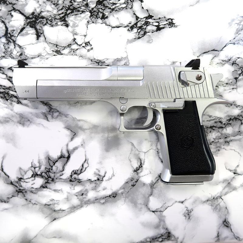 画像1: 【代引限定販売商品】【中古品/BLK式ガスガン】デザートイーグル.44 [シルバー]  ABS製(WA)
