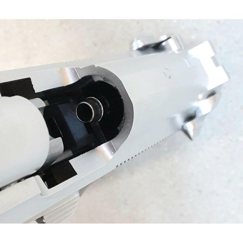画像3: 【代引限定商品】【中古品/BLK式ガスガン】M92 INOX ABS製(KSC)