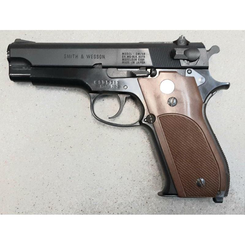 画像1: 【中古/発火式モデルガン】スミス&ウェッソン M39 ABS製(MGC)