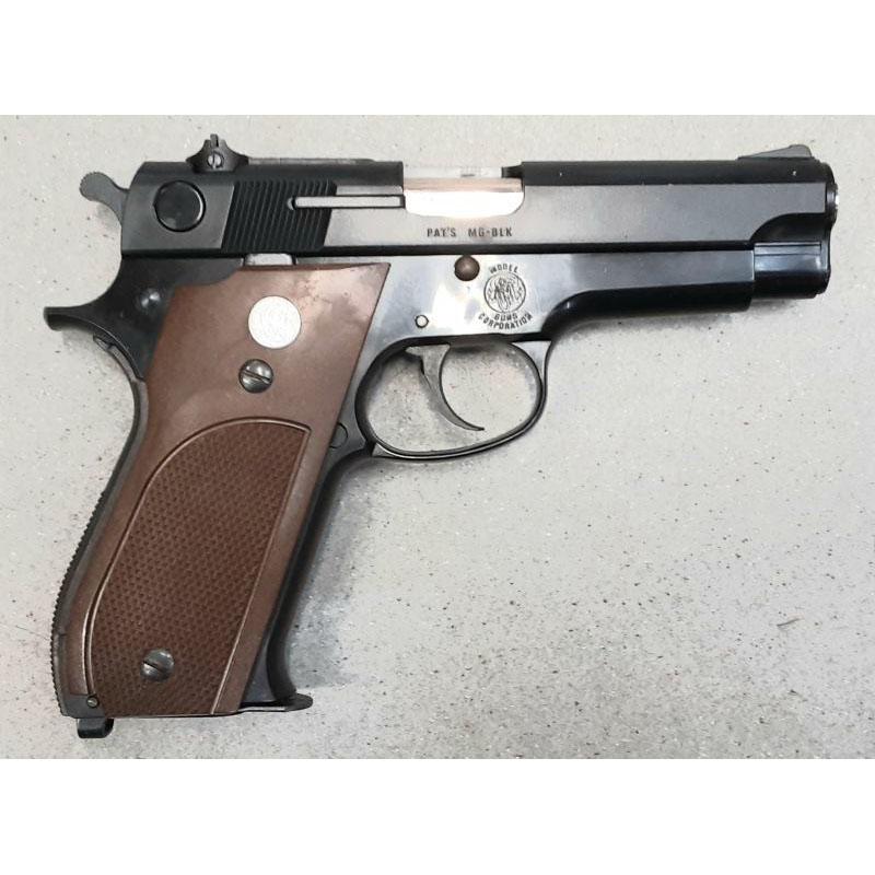 画像2: 【中古/発火式モデルガン】スミス&ウェッソン M39 ABS製(MGC)
