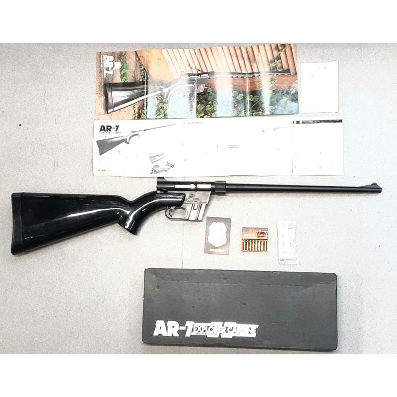 画像1: 【中古/BLK発火式モデルガン】チャーターアームズ AR-7 ABS製 (WA)
