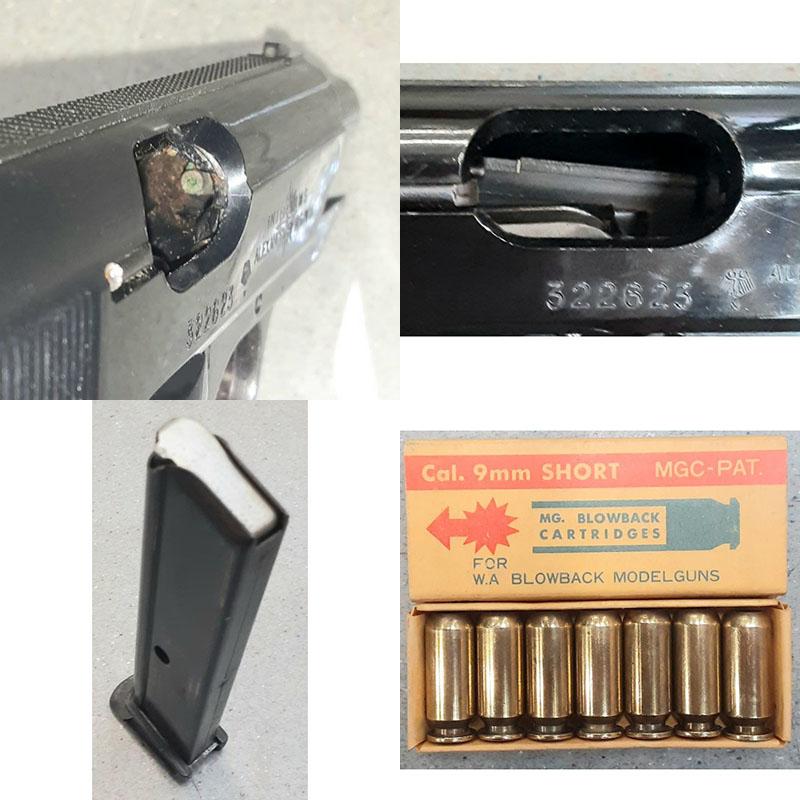 画像3: 【代引限定商品】【中古/BLK発火式モデルガン】ワルサーPPK/S ABS製(ウェスタンアームズ)