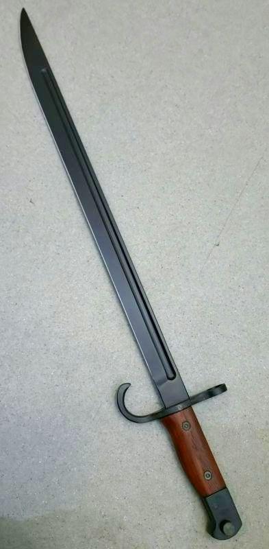 画像1: 【新古/ディスプレイアクセサリー】三十年式銃剣 [アルミ粉入り樹脂ブレード/木製](KTW)